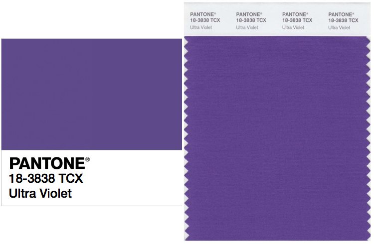 Pantone's Color of the Year 2018