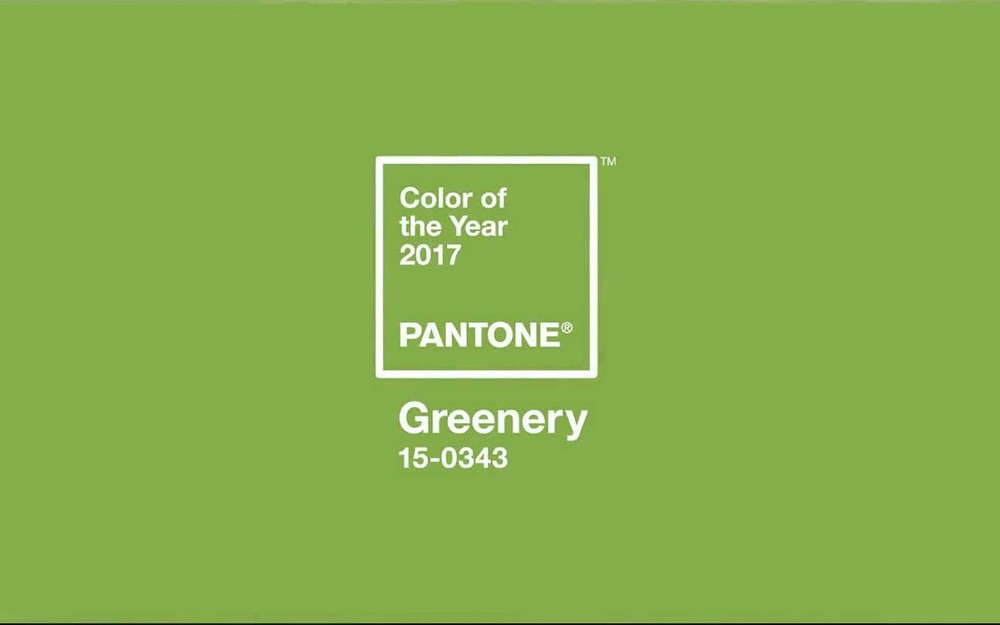 Greenery Pantone's Color of the Year